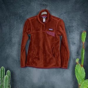 Patagonia Re-Tool Snap-T Fleece Pullover Rust B516